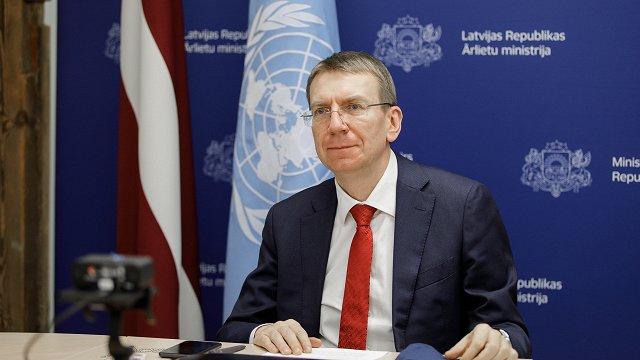 Ministrs Rinkēvičs ārpolitikas debatēs Saeimā: Situācija pasaulē ir sakarsēta
