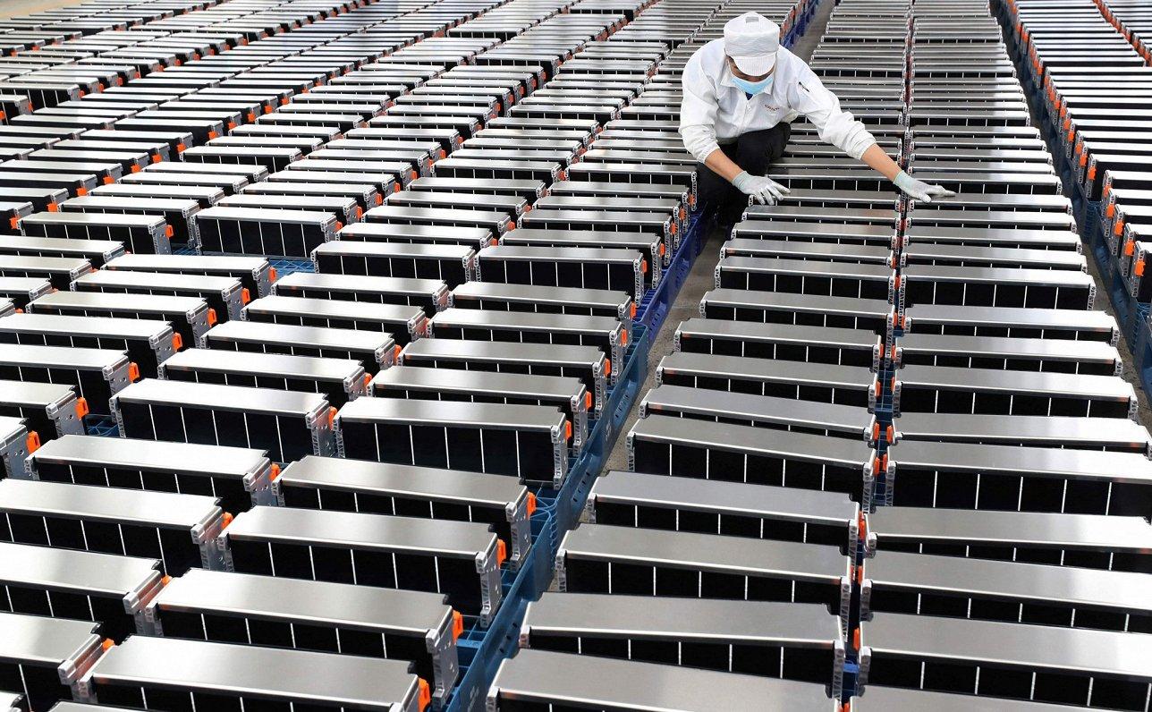 ES tēmē kļūt par otru lielāko litija jonu akumulatoru ražotāju pasaulē aiz Ķīnas