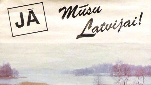 Pirms 30 gadiem Latvijas tauta nobalsoja par neatkarību