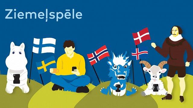 Ziemeļvalstu dienā klajā nāk izglītojoša tiešsaistes viktorīna «Ziemeļspēle»