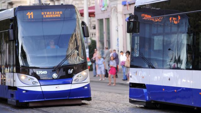 Shorter waits for Rīga public transport as of September