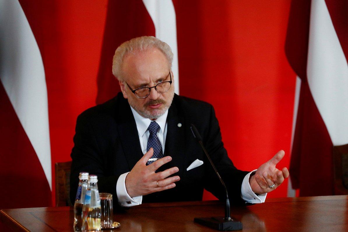 «Мы несём в себе как трагедию своих предков, так и их силу» — президент Латвии