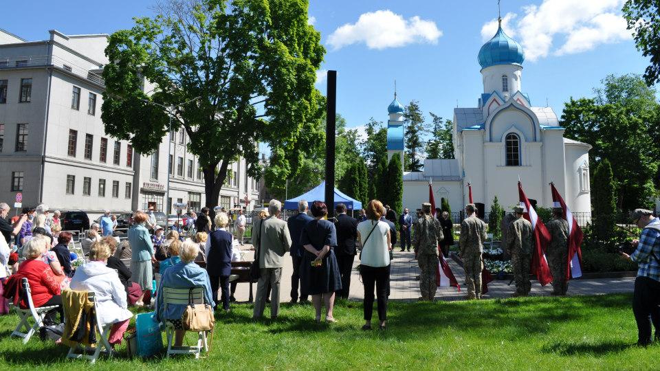 В Даугавпилсе поименно вспомнили 672 депортированных 14 июня 1941 года