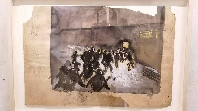 Kartē atzīmēta traģēdija. Lipkes memoriālā atklāj holokaustu pārdzīvojušā mākslinieka Borisa Lurjes stāstu