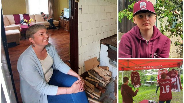 Vēzis dēlam un mammai – Ķeveru ģimenes drosmīgā dubultcīņa Lubānā
