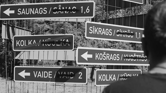 Neļauj izvietot ceļazīmes lībiešu valodā