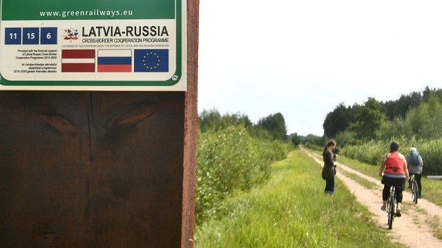 Vecie dzelzceļi kļūst par «zaļajiem» velomaršrutiem – no Rīgas gandrīz līdz Pleskavai