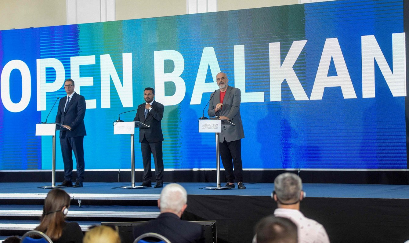 Buksējot progresam uzņemšanā ES, Balkānu valstis sper soļus savas mini Šengenas izveidē
