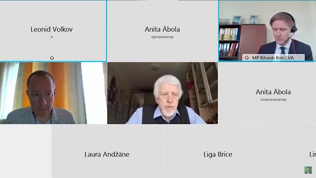 «Latvija atbalsta ārzemju aģentus» – Saeimas deputātu tikšanās ierakstu ar viltus Volkovu izmanto Krievijas televīzijā
