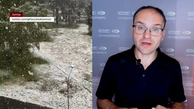 Video blogs: Nākamnedēļ būs auksts, bet vēl ir cerības uz atvasaru
