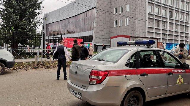 Krievijas augstskolā apšaudē nogalināti seši cilvēki, vairāk nekā 20 ievainoti