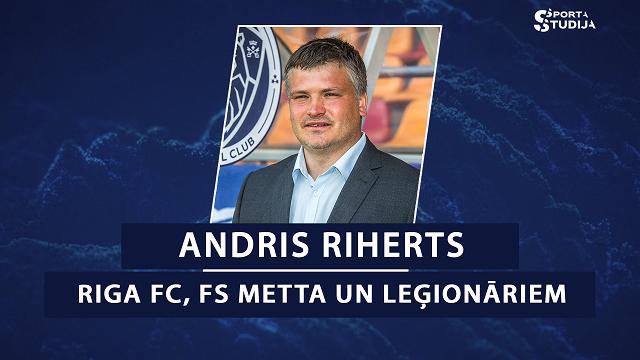 «Sporta studijas» podkāsts. Epizode #30. Treneris Riherts par «Riga» FC, FS «Metta» un leģionāriem