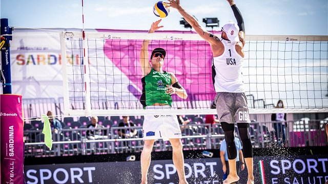 Pļaviņš/Točs ar zaudējumu sāk pludmales volejbola Pasaules tūres finālturnīru