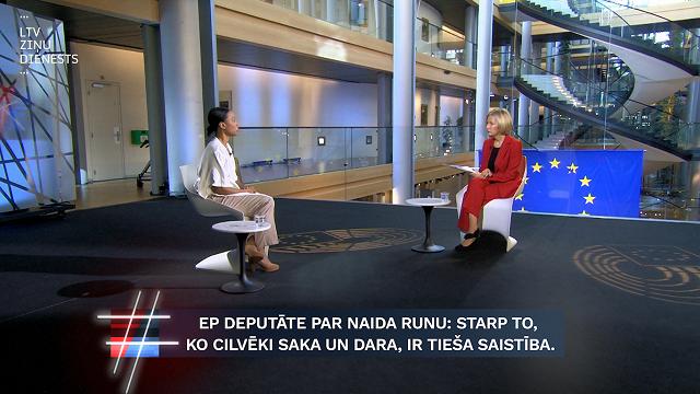VIDEO. «Būris». EP deputāte: Jo vairāk lietojam naida runu, jo vairāk pieaug vardarbība reālajā dzīvē