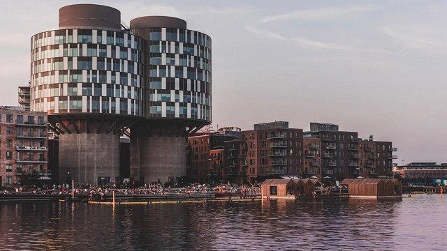 Kopenhāgenas ostas rajonā veido nākotnes pilsētu