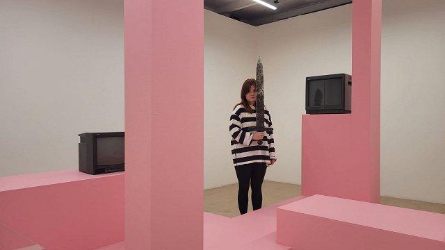 Par laiku, kas veidojis. Ievas Kraules-Kūnas izstāde laikmetīgās mākslas centrā «Kim?»